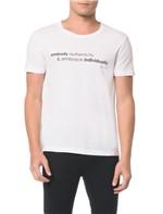 Camisetas Slim Estampa Embody - P