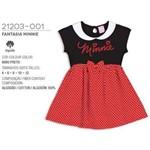 Camisola Fantasia Minnie Lupo 100% Algodão Disney 21203-001
