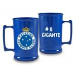 Caneca Acrílica 400ml - Cruzeiro Azul
