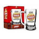 Caneca Chopp Cerveja Drama 340ml