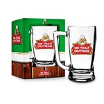 Caneca Chopp Cerveja me Traz Outra 340ml