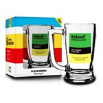 Caneca Chopp Remedio Relaxol 340ml