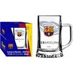 Caneca Copo 500 Ml Chopp Maxim Cerveja Logo Barcelona