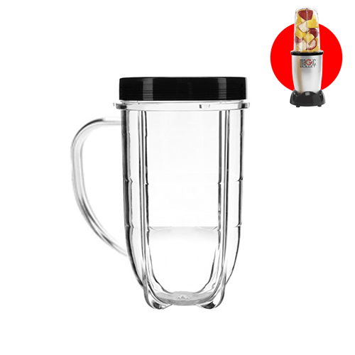 Caneca de 500ml com Protetor Labial - Magic Bullet