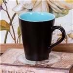 Caneca de Cerâmica Conic 275ml Havan Azul Azul
