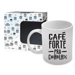 Caneca de Porcelana Café Forte