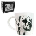 Caneca de Porcelana I Love Dogs Dalmata 320ml