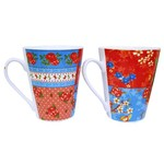 Caneca de Porcelana Patchflower New 280ml