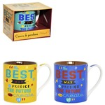 Caneca de Porcelana The Best Way 390ml