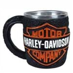 Caneca Emblema Motor Harley Davidson
