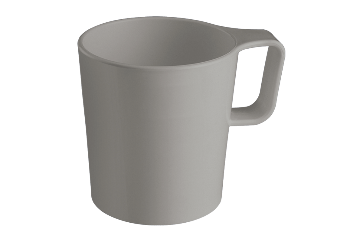 Caneca Empilhável Casual 125ml Light Gray Coza