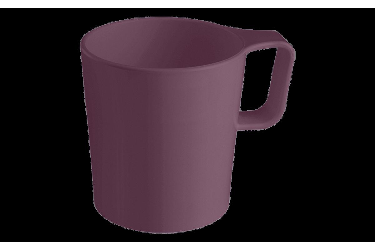 Caneca Empilhável Casual 125ml Roxo Púrpura Coza