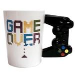 Caneca Fun Controle de Video Game 350ml Branco e Preto