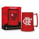 Caneca Gel 300ml - Flamengo Vermelha