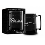 Caneca Gel 300ml - Pai Black