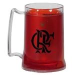 Caneca Gel Flamengo a Maior Torcida - Vermelho