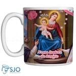 Caneca Nossa Senhora do Rosário com Oração | SJO Artigos Religiosos