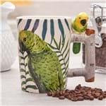 Caneca Papagaio 380ml Rojemac Ceramica