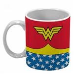 Caneca Porcelana Dc Body Wonder Woman