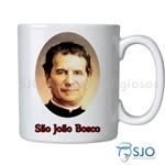 Caneca São João Bosco com Oração | SJO Artigos Religiosos