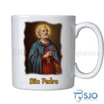 Caneca São Pedro com Oração | SJO Artigos Religiosos