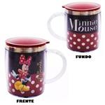 Caneca Termica Minnie Mouse 450ml