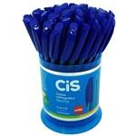 Caneta Esferográfica Neo Tip 1.0 Azul 50 Unidades - Cis