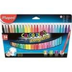 Caneta Hidrocor Color'peps Long Life 24 Cores Maped