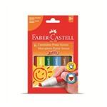 Caneta Hidrocor Faber Castell Jumbo 006 Cores 150206gzf