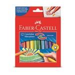 Caneta Hidrocor Faber Castell Vai e Vem 012 Cores 15.01 Vvzf 12
