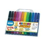 Caneta Hidrográfica Colorcis Jumbo 6 Cores