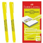 Caneta Marca Texto Grifpen Amarela Faber-castell Cx.c/12