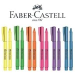 Caneta Marca Texto Neon Grifpen Faber Castell - Kit com 6 Cores
