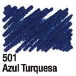 Caneta para Tecido Acrilpen 501 - Azul Turquesa