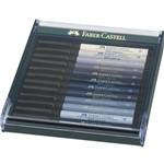 Caneta Pincel Pitt Estojo com 12 Tons de Cinza Ref.267423 Faber-castell