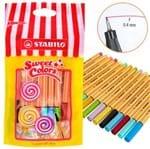 Caneta Stabilo Point 88 Sweet Colors - Estojo C/ 15