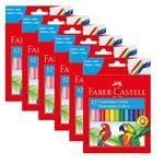 Canetinhas Colors 12 Cores Pct 6 Un. Faber Castell