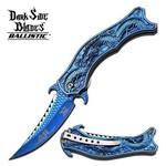 Canivete Ornamental Dragão Azul Master Cutlery
