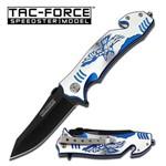 Canivete Tala em Aluminio Aguia Azul Master Cutlery