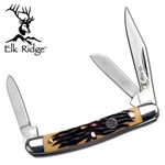 Canivete Tradicional 3 Lâminas Tala Sumulando Osso Master Cutlery