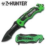 Canivete Z-hunter com Abertura Assistida, Quebra Vidro e Corta Cinto Master Cutlery