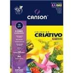 Canson Estudante Criativo Lumi Fluorescente A-4