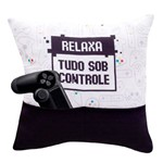 Capa Almofada Porta-Controle - Game Geek
