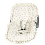 Capa Bebê Conforto Estampada Ref: A-14- Cor-caquí