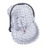 Capa Bebê Conforto Estrela Azul 3 Peças
