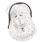 Capa Bebê Conforto Raposa Palha 3 Peças