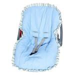 Capa Bebê Conforto Ref: A-102 - Cor-azul