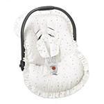 Capa Bebê Conforto Triângulo Colorido 3 Peças