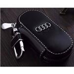 Capa Chave de Couro Luxo Audi A3 A4 A6 Q5 A8 S5 S6 S7