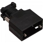 Capa DB9/HD15 VGA com Trava Kit Longo CNVG0003 Preto STORM